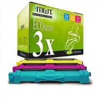 3x MWT Eco Cartucho Compatible para Brother MFC-9330-CDW HL-3150-CDN HL-3140-CW
