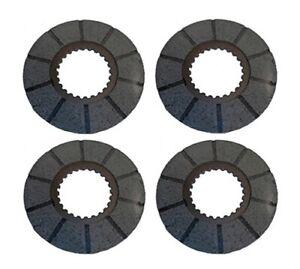 4 Brake Discs Fits Case IH 1030 400 730 770 830 870 930 970 A44712 1975466C1