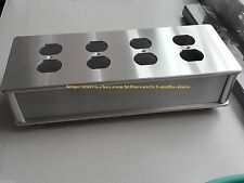 US AC Power Supply Distributor Aluminum Shell 8 Outlet BOX HIFI Chassis bar