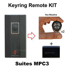 Roller door remote hand transmitters kit fits B&D MPC 3 MkII heavy Duty