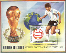 Lesotho 1997 Football/Italy WC/Soccer/Sport m/s  n14059