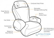 NEW Human Touch iJoy-2580 Massage Chair Black Recliner - FULL FACTORY WARRANTY