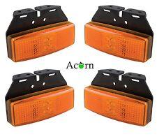 LED Trailer Lights 3 Years warranty , Side  Marker Amber Set of Four