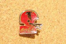 Atlanta Falcons football helmet Coca Cola brooch pin NFL coke coca-cola