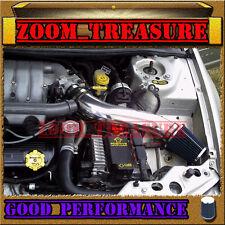 BLACK BLUE 1995-2000 DODGE STRATUS/CHRYSLER SEBRING/CIRRUS V6 LONG AIR INTAKE 2