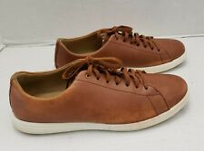 COLE HAAN Grand Mens Shoes Grand Crosscourt Sneaker Tan Leather Oxford C26521 10