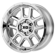 "XD Series XD828 Delta 20x9 6x5.5"" -12mm Chrome Wheel Rim 20"" Inch"