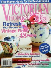 VICTORIAN HOMES MAGAZINE,  REFRESH YOUR ROOMS   FALL, 2013   VOL. 32   NO. 3^