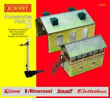 Hornby R8231 OO Trakmat Accessories Pack 5