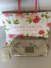 LAURA ASHLEY SOAMES MAKE UP BAG BNWT WITH LAURA ASHLEY SHOP BAG