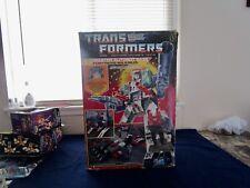 Transformers Generation One Autobot City Fortress Maximus Complete Mib Box # 3