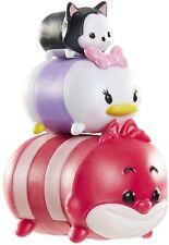 Disney Tsum Tsum 3 Pack Figures Series 1 Cheshire Cat Daisy Figaro