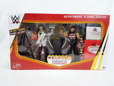 WWE EPIC MOMENTS CHRIS JERICHO KEVIN OWENS SERIES ELITE WRESTLING ACTION FIGURE
