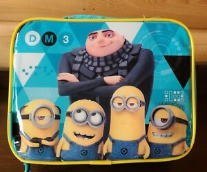 Soft Lunch Kit Despicable Me 3 PVC Free Reusable with Padded Carrying Handle New