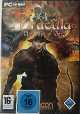Dracula-the days of Gore-pc cd-rom-Neuf & OVP