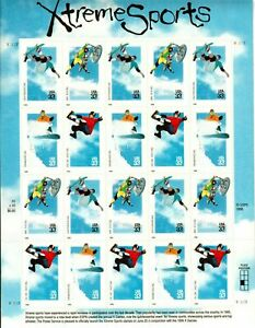 Scott 3321-24 Xtreme Sports Sheet MNH Free shipping in USA!