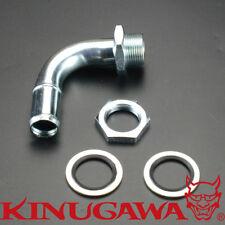 Turbo Oil Drain / Return Pipe tap to Oil Pan DIY (3/4 inch / 19 mm) 90 Degree