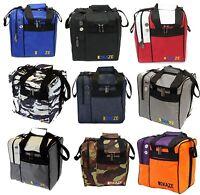 KAZE SPORTS Deluxe One Ball Bowling Tote Bag Side Shoe Pocket Shoulder Strap