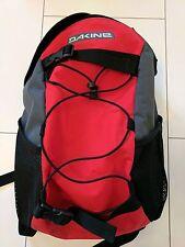 Dakine Wonder Pack Grey and Red 15 Litre Backpack for School or Snowboarding