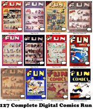 More Fun Comics #1-127 Complete Run DC 1935-1947 Digital Scans