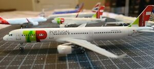 TAP AIR PORTUGAL A321 CS-TJG Jc Wings  1:200 SCALE DIECAST MODEL