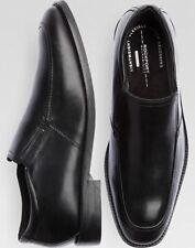 Rockport Men's Smart Cover Slip on Oxford Shoes - Black - Size 10-D