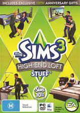 The Sims 3 High End Loft Stuff (Add On) PC & Mac 100% Brand New