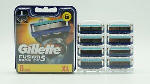 8x Gillette Fusion5 Proglide Rasierklingen - NEU - Männer - IM BLISTER OHNE OVP