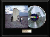 THE WHO WHO'S NEXT FRAMED ALBUM LP WHITE GOLD SILVER PLATINUM TONE RECORD RARE
