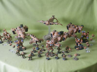 WARHAMMER 40K PAINTED TAU EMPIRE ARMY - MANY UNITS TO CHOOSE FROM