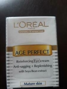 L'OREAL AGE PERFECT REINFORCING EYE CREAM ANTI-SAGGING CREAM + REPLENISHING