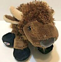 GANZ Webkinz Buffalo HM336 Brown with Vinyl Nose Black Feet