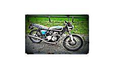 1978 Honda Cb550 F2 Bike Motorcycle A4 Photo Poster