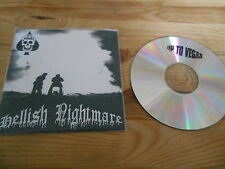 CD Punk Up For Vegas - Hellish Nightmare (4 Song) Demo PRIVATE PRESS