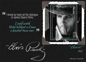 Palau -2011- Elvis Presley Movie Series Charro Quote - Souvenir Sheet - MNH