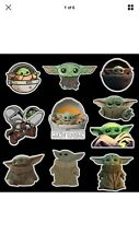 Baby Yoda Mandalorian Star Wars Stickers Decals 10 Pack for Laptop Car Window