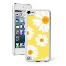 For Apple iPod Touch 4th 5th 6th Hard Case Cover 1080 Daisy Flowers on Yellow