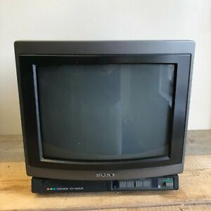 Sony Trinitron CRT Colour TV KV-1462UB Gaming TV 14 inch Vintage Gamer *WORKING*