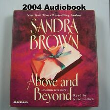 Above and Beyond by Sandra Brown 2004 Audiobook CD Love Story Relationships War