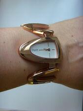 M&M Germany Uhr Damenuhr M11920-992 OPEN WING Metallband rosé vergoldet