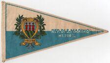 BANDIERINA REP. SAN MARINO SCOOTER VESPA LAMBRETTA FLAG PENNANT GAGLIARDETTO