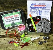 Yo-yo automatique bobine de pêche-Extreme Pêche Kit de survie-Bushcraft-camping