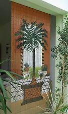 "Bambustürvorhang Cortina de Bambú guardapuerta ""Dubai"" 90x200cm aprox."