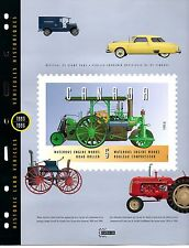 CANADA 1993-6 CAPEX  SOUVENIR BOOKLET WITH STAMPS MNH VINTAGE LAND VEHICLES /CAR
