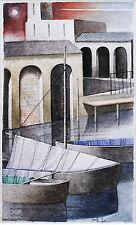 Marcello Scuffi, acquarello su cartoncino 25x40