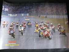 Poster Start Grand Prix 250cc 1993 Duitsland op de Hockenheim Ring (Folded)