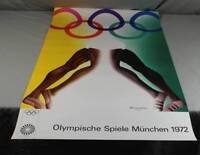 Plakat - Allen Jones , abstrakte Komposition - Olympische Spiele München (3)  /O