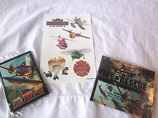 Disney Planes: Fire & Rescue Promo Pack - Cards, Binoculars, Tattoos  RARE PROMO