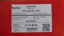Tóner para HP LaserJet 1100 reemplaza c4092a hewlett packard 92a Berolina