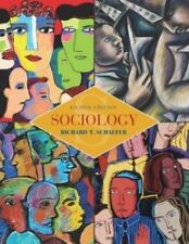Sociology with Free SocWorld with PowerWeb by Richard T. Schaefer (2003,...